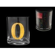Стакан для виски (1 шт) Азбука Буква «O»