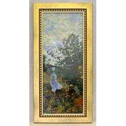 Картина «Прогулка» 22х44,5 , фарфор, серия Monet. Подарочная упаковка