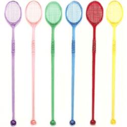Мешалка «Теннисная ракетка» 50шт.19см