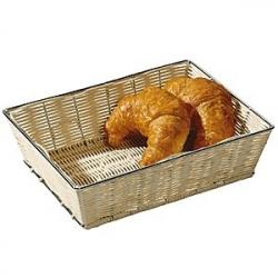 Корзина плетен. для хлеба 60*22см, мет. карк.