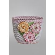 Кашпо для цветов 25x26x21 см. «Цветы»