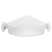 Угловой органайзер/корзина для ванны BOXS Koziol 192 х 192 х 74мм (прозрачный)