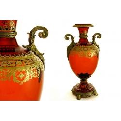 Декоративная ваза для цветов 33 см «Неаполь»