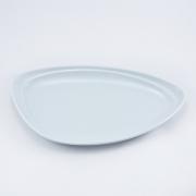 Тарелка 15*25,5см. Муд «Белое»