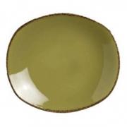 Тарелка овал «Террамеса олива» 15.2см