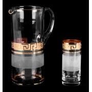 Набор для воды «Костка Каро Комин «» (кувшин+6 стаканов)