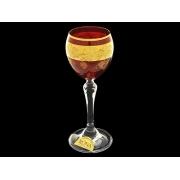 Рюмка для ликера Люция, Рубин с виноградом
