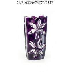 Ваза фиолетовая 255