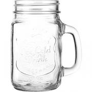 Кружка пивная «Банка» стекло; 420мл; прозр.