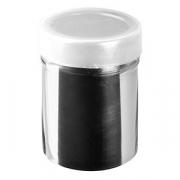 Емкость для сахарной пудры «Проотель», сталь, 240мл, D=60,L=90,B=92мм, металлич.