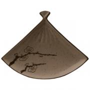 Блюдо-веер «Сакура«21 см фарфор