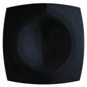 Тарелка мелк. «Квадрато» черная 26*26см