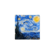 Тарелка квадратная Звездная ночь (Ван Гог) без инд.упаковки