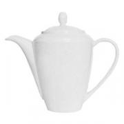 Чайник «Симплисити Вайт»; фарфор; 850мл; белый