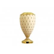 Ваза декоративная Murano Cream Gold