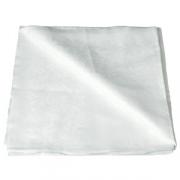 Скатерть 150х150см белая лен