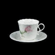 Набор 6 чайных пар 250мл «Апрельская роза»