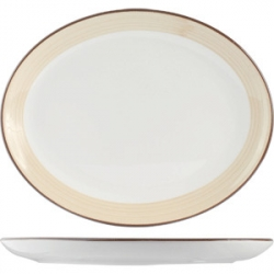 Блюдо овал «Чино» 25.5см