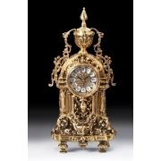 Часы с кубком ажурные цвет - золото 43х18,5 см