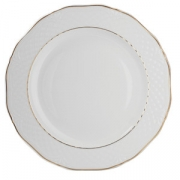 Блюдо кругл «Афродита» с зол.d=32см фар
