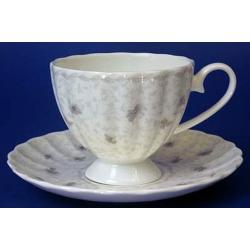 Н 1040000 Вуаль набор чашек чайных высоких 220мл с блюдцем 6/12