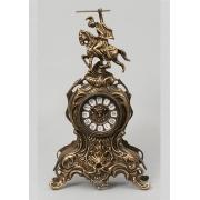 Часы «Всадник» каштан 37х21 см.