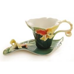 Чашка с блюдцем «Канна» чашка - 0,15 л