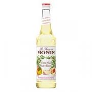 Сироп «Белый персик» «Монин»; стекло; 50мл