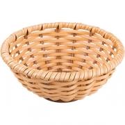 Корзина плетен. для хлеба D=23/8см; золотой