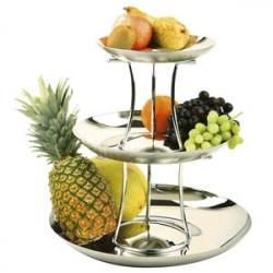 Этажерка для фруктов 3-х ярусн.