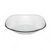 Тарелка глуб. закал.стекло