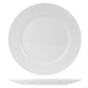 Тарелка мелкая «Кунстверк», фарфор, D=175,H=20мм, белый