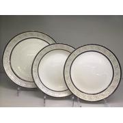 Набор тарелок «Аврора» на 6 персон 18 предметов