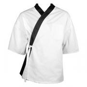 Куртка сушиста всесезонная 46размер, хлопок, белый,черный