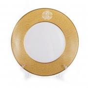 Набор тарелок «Лиззард Голд» 22 см. 6 шт. глубокие