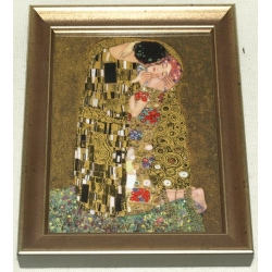 Картина «Поцелуй» 31х25 см.Серия Klimt. Подарочная упаковка