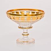 Ваза «Золотые окошки 60550» 13 см для конфет