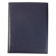 Папка-меню А4, кожа, H=245,L=325,B=15мм, синий
