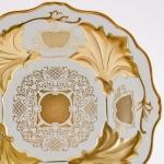 Ваза для фруктов Ютта 31 см. «Симфония Золотая»