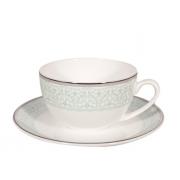 Пара чайная, 2 перс, 4 пр, Фантазия-платинум