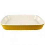 Блюдо для запек. прямоуг. желтое 35.5*30.5
