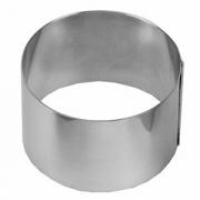 Кольцо кондитерское, сталь нерж., D=8,H=6см