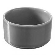 Форма для запек., фарфор, 60мл, D=65,H=35мм, серый