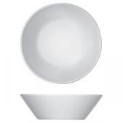 Салатник «Опшенс», фарфор, D=14см, белый