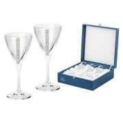 Набор из 6 бокалов для вина «Регина Сваровски»