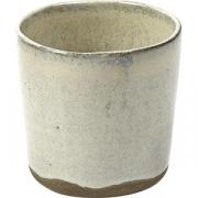 Стакан №9 «Мерси» песчаник D=7.4, H=7.3см; кремов.