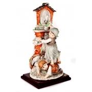 Скульптура «Мальчик с девочкой» 33см