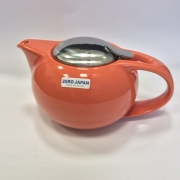 Чайник с ситечком 1350мл цвет: Морковный