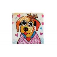 Подставка керамическая Весёлый щенок без инд.упаковки