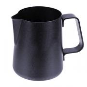 Молочник, сталь нерж.,антиприг.покр., 800мл, черный